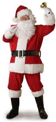 5uNs4 Noel erkek kadın kadife altın giyim Noel giyim performansı Baba kostümü