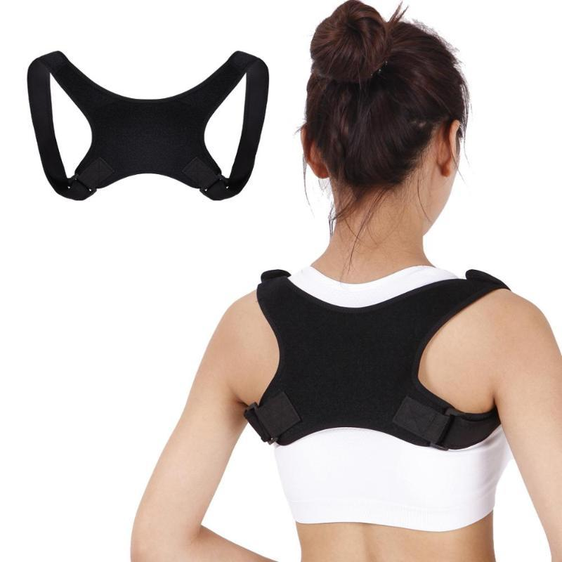 New Posture Correction Shoulder Strap Support Belt Men Women Back Posture Corrector Adjustable Therapy Lumbar Brace Spine