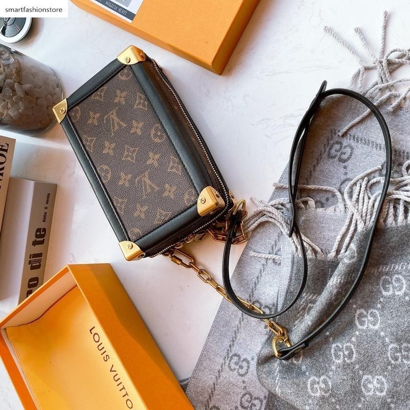 2020 Top-Weihnachtsgeschenk hochwertige Handtaschen Schulter-Einkaufstote Messenger Bags Die einzelnen Schulterbeutel-Einkaufstasche mit Box 06