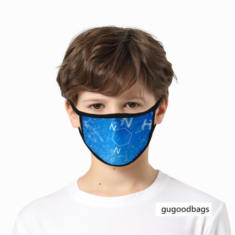 Ciência Tecnologia de vento à prova de pó e à prova de neblina impressão máscara de gaze de algodão resistente à água lavável