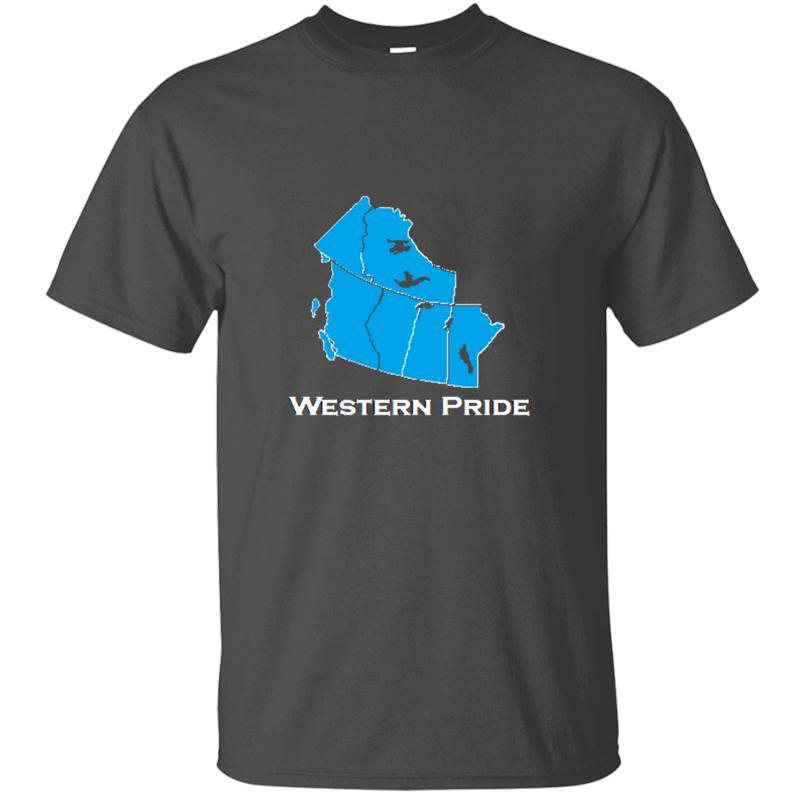 Örme Özelleştirilmiş Batı Pride Tişört Adam Pamuk Beyaz Elbise Erkekler Ve Kadınlar Tshirts Camisetas Hiphop Top Soğuk