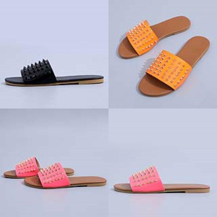 Son Ot Satış Sandalet Dener KİT'ler Dener Slaytlar Kadınlar Sandalet Seksi Casual Terlik Beac Ayaklı Boyut US4.5-US9.5 Flops # 226