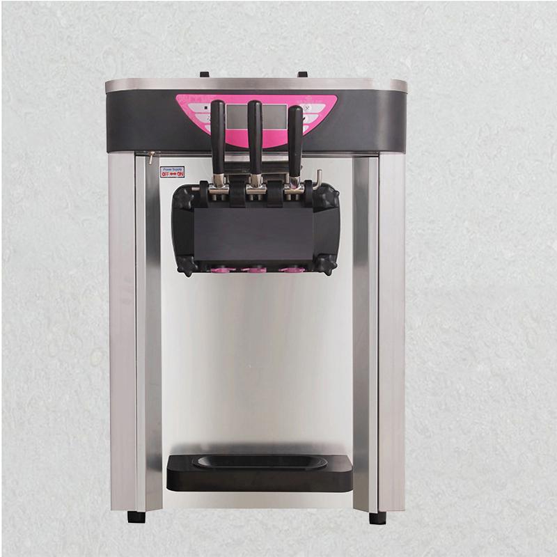 machine à crème glacée commerciale bureau automatique avec écran LCD sorbetière avec compresseur Marque 2000W