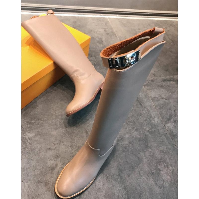 2020 marque la mode chaussures de luxe des femmes de créateurs de mode de luxe de femmes bottes Marque Bottes femme bottes hiver femme robe # si7920 Chaussures