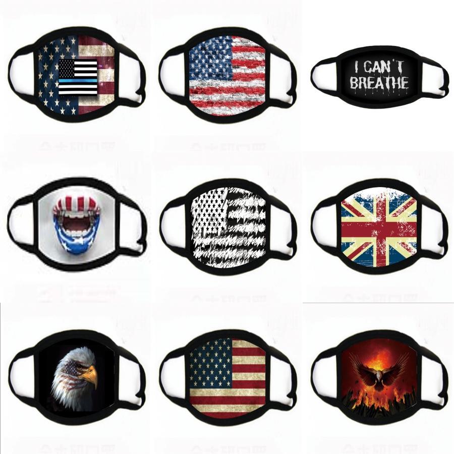 Anti Toz Siyah Yüz Ağız Er PM2.5 Karşıtı Toz Ağız toz geçirmez Anti-L Yıkanabilir Yeniden kullanılabilir Sünger Yüz Maskeleri Maske 200pcs # 378