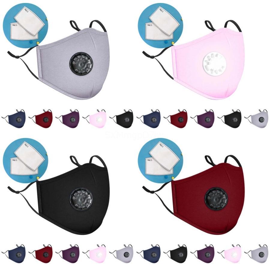 50 1PCS Yüz Maskesi Tasarımcı Baskılı Yüz 3 Kat Ücretsiz Kargo Nakliye Mavi Maskeler Blok Toz Hava Kirliliği Filtresi Sigara Yağlı Partikül # 732 Maske
