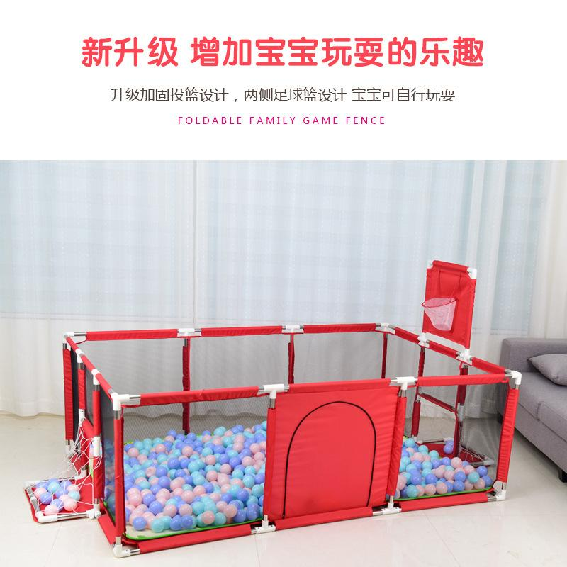 Factory Promotion Wholesale Cloth Game Fence Childrens Tent Baby Toddler Baby Safety Explosion Toy Ball Pool