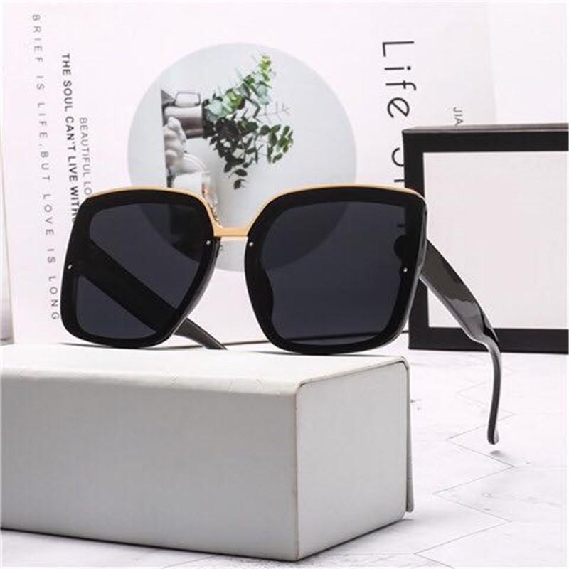 2020 diseño del deporte de la manera Gafas de sol para mujer de conducción de gran tamaño gafas de sol de alta calidad UV400 ninguna caja