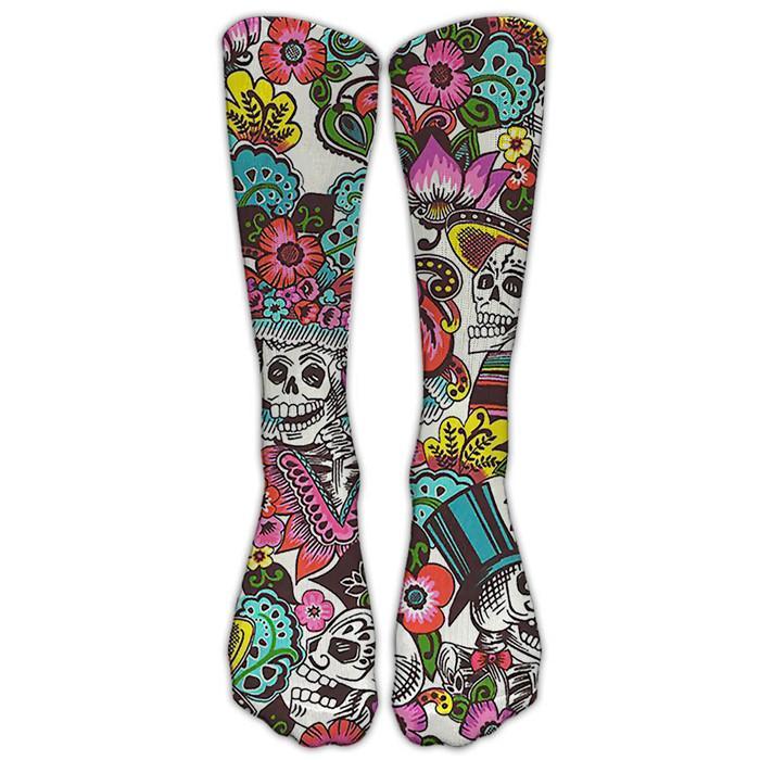 Frauen 3D Halloween Socken Fashion Christmas Elk Casual Socken Herbst-Winter-Frauen der Männer Socken