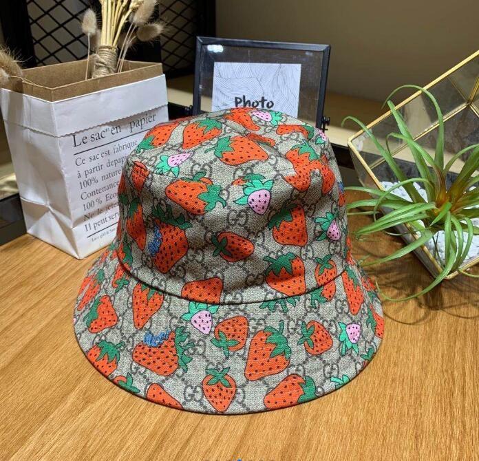 Frühjahr / Sommer 2020 Fashion Mehrzweckbriefdruck Wannenhut Fischer Hut im Freien Reise Sonnenhut Frauen, Männer Baseballmützen Großhandel A08