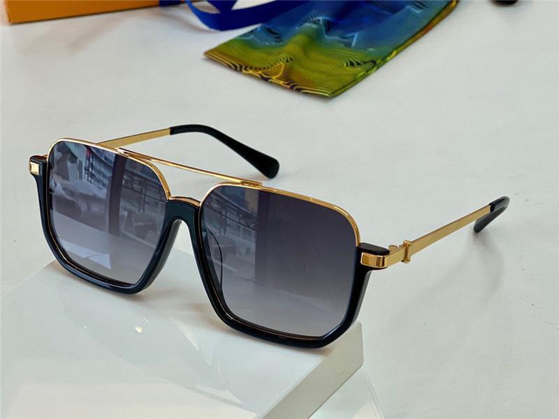 새로운 패션 디자인 선글라스 1266 금속 절반 프레임 인기 스타일 UV400 보호 렌즈 원래 안경 케이스와 최고 품질