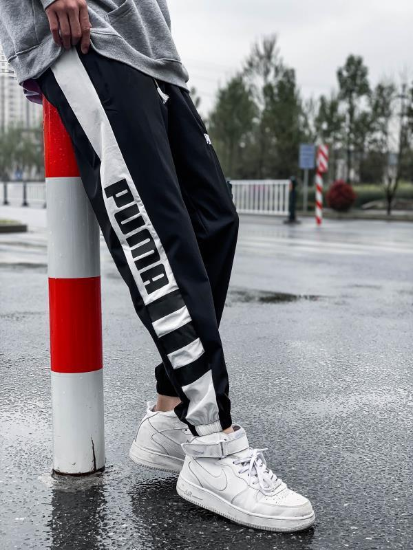 NK 2020 Erkek Koşucular Günlük Pantolon Spor Erkek Spor eşofman altı Skinny Sweatpants Pantolon Siyah Spor Salonları Jogger eşofman altı 7566