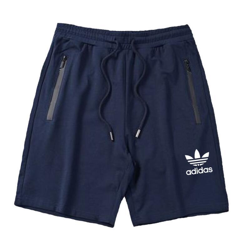 2020 klasik marka ilk üç boyutlu baskı yüksek streç şort dikişsiz fermuar erkekler koşu pantolon rahat pantolon ücretsiz kargo