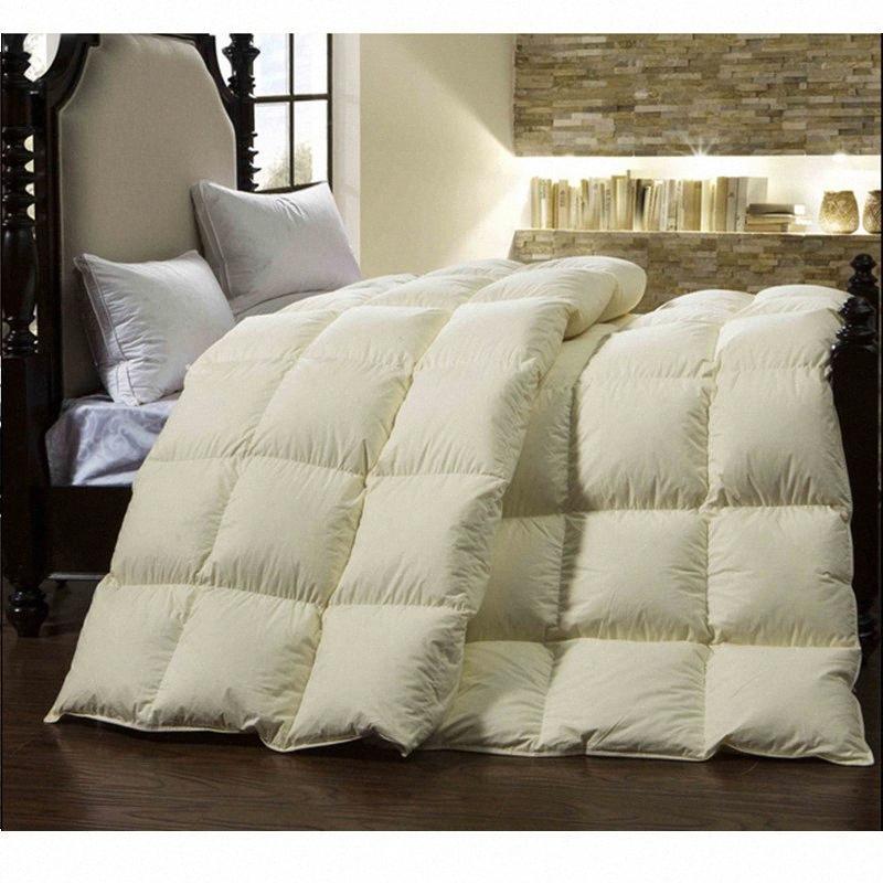 KLEESPRACH Duvet unten Hochwertige Edredon Nordico Nordic Abdeckung Duvet für den Winter Comforters Bettdecke für ein Doppelbett TTFM #