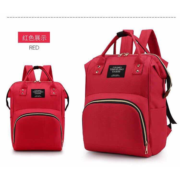 Ready made mother's backpack, baby travel bag, pregnant women's care bag, large volume and various colors