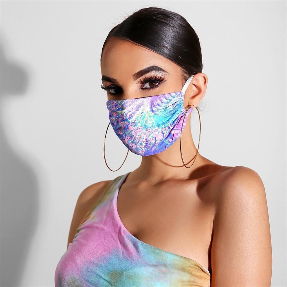 8V46C Cosplay Ağız-Kül Maske Parlak Pamuk toz geçirmez siyah Parti Sıcak Yetişkin Unisex Cadılar Cadılar Karnavalı Açık Kış nt