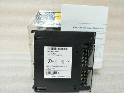 GE Fanuc IC693MDL930 4A 8PT Ausgang Isolierte Relay New SGlz #