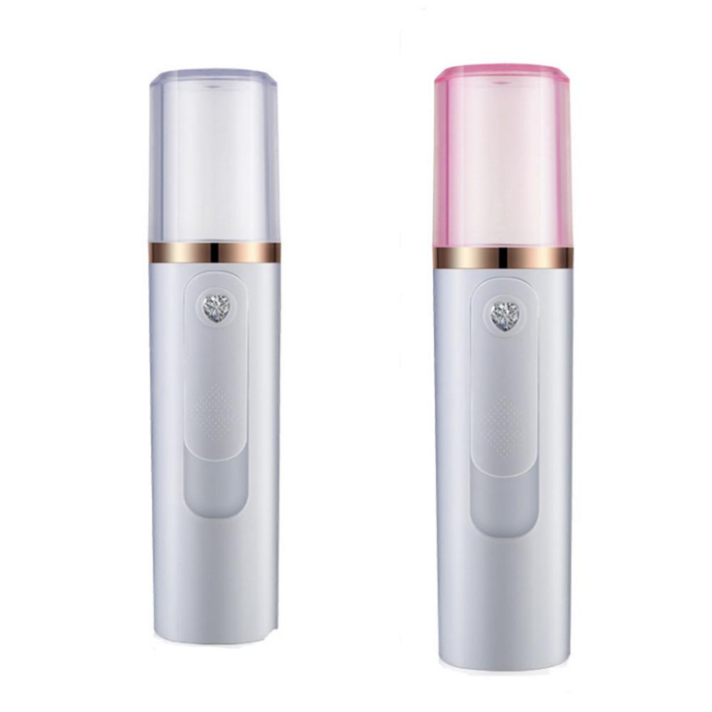 USB 1200mAh Portable Facial Nano Spray 30ml Handy Mister Face Moisturizing Sprayer Moisturizing Device Beauty Instrument