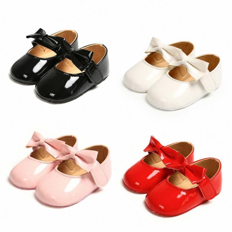 Baby Girl Glitter Lit bébé Chaussures Anti Slip doux Sole Prewalker Chaussures Enfants # mb37 de