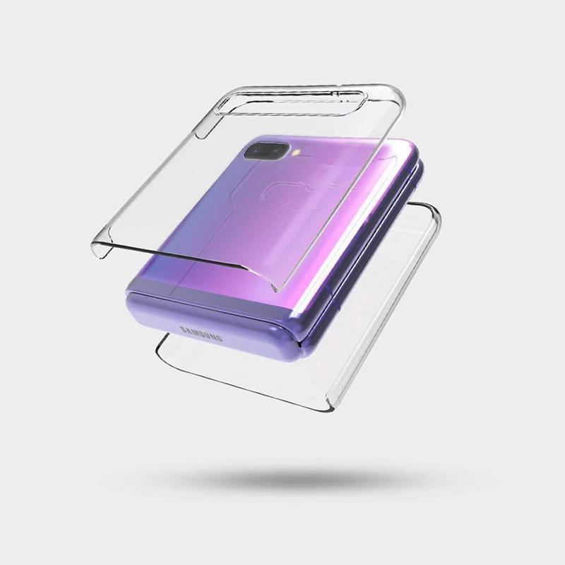 Phone Case trasparente antiurto trasparente delle cellule del telefono della copertura posteriore Shell per Samsung caso di vibrazione pieghevole Z