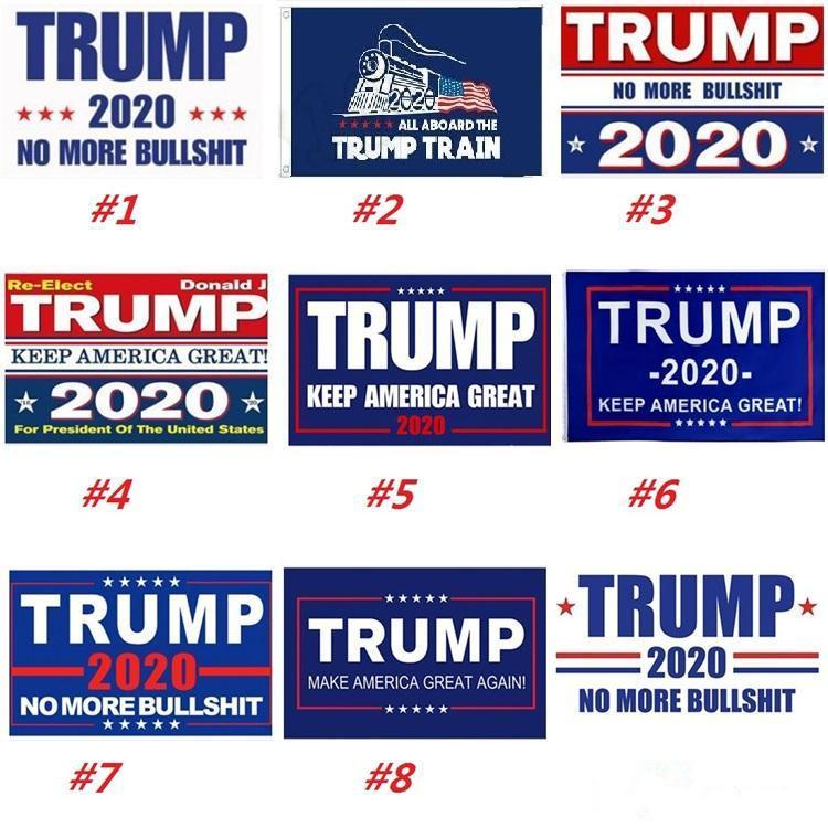 Stok DHL Dekor Banner Trump Bayrak ise 2020 Cumhurbaşkanı Seçimi Amerikan Büyük Trump Seçim Bayrağı Ücretsiz Kargo tutun