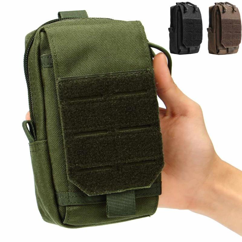 Водонепроницаемый 1000D Nylon Army Tactical Molle мешок пояса талии обновления сумка комплект телефона Карманный Кошелек Сумка кошелек