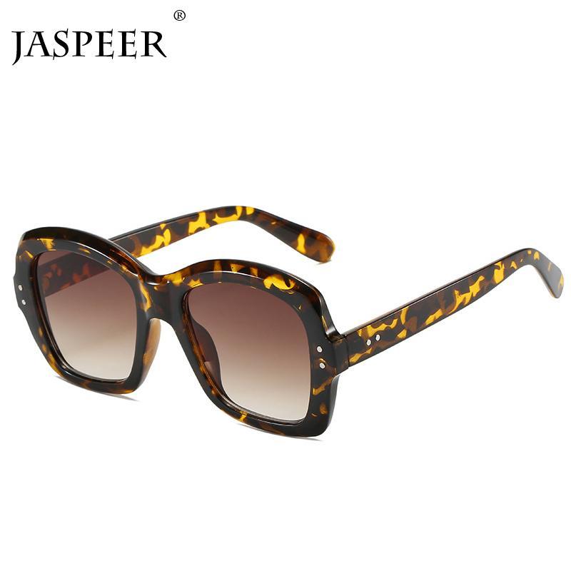 Jaspeer neue Sonnenbrille Frauen Männer Brand Design 2020 Vintage-Sonnenbrillen Schwarz-Linse Dame Brillen Uv400