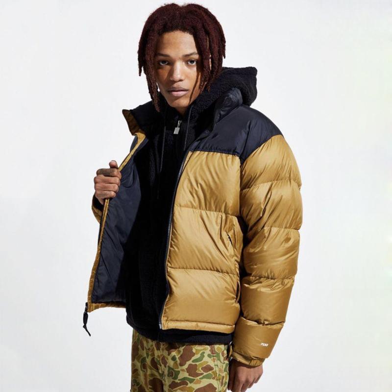 Mejor caliente clásico Nuptse chaquetas de invierno al aire libre a prueba de viento abrigos Pan chaqueta abajo de la calle de gama alta Outwear HFYMJK329