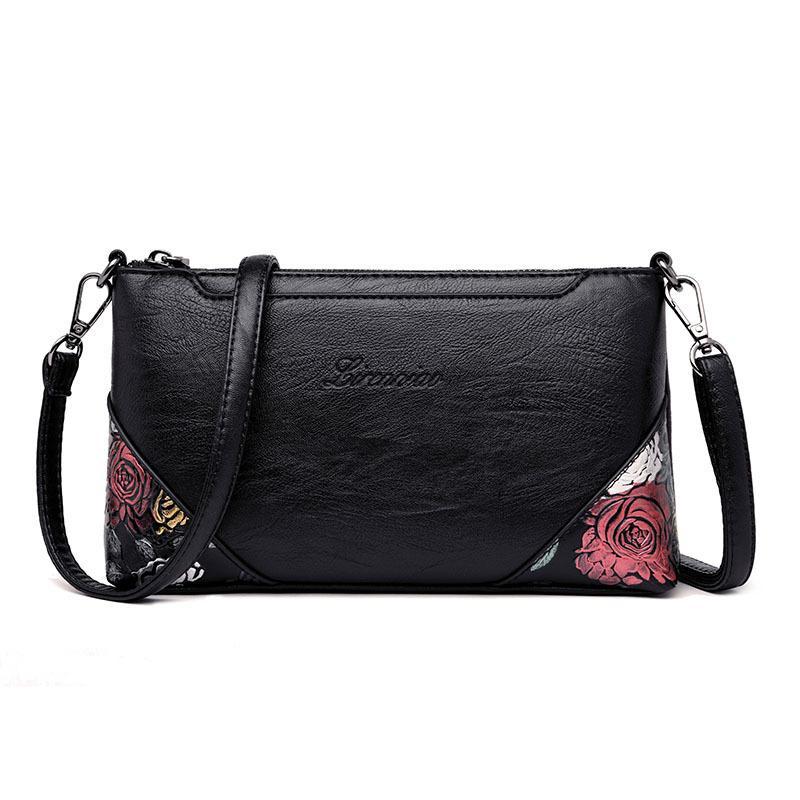 المرأة في منتصف العمر المرأة كتف حقيبة للنساء العلامة التجارية مصمم أكياس الفاخرة بو الجلود حقيبة الهاتف المحمول حقيبة مخلب حقيبة