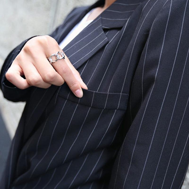 negócios qXK1R SVLc6 Primavera Outono OL Primavera e Outono ol emagrecimento longo da luva e de mangas compridas business casual fato de duas peças terno das mulheres