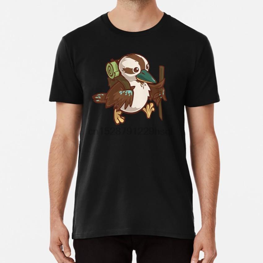 Прогулка тенниска птица прогулка кукабурра австралия мило
