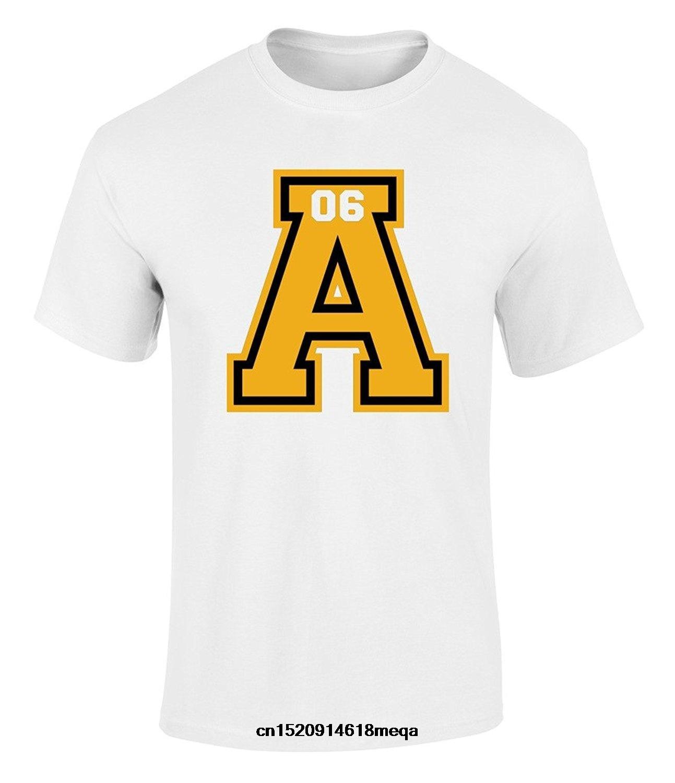 Yaz Erkek Modası Pamuk Alpha Phi Alpha Grafik Baskı Kısa Kollu T Shirt Soğuk