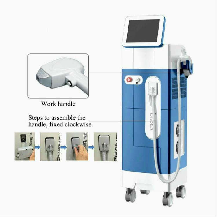 2020 Home Use Laser Hair Removal Machine 808 Diode Laser Soprano