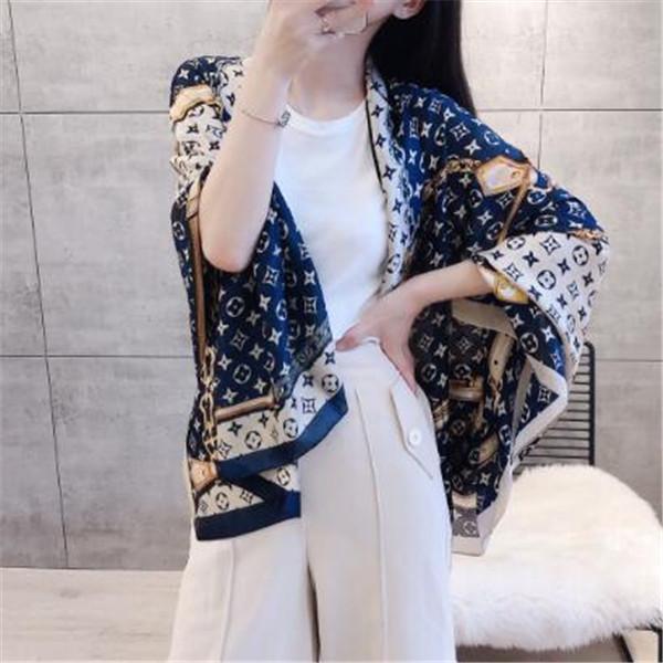 French luxury fashion silk scarf popular design top quality soft silk scarf for women ladies beautiful beach shawl scarf headband scarves