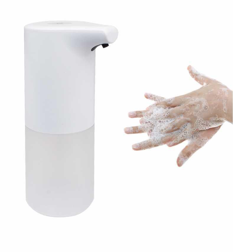 350мл Автоматическая Touchelss Диспенсер USB зарядка Инфракрасный индукционные мыло пены диспенсер Kitchen дезинфицирующее средство для рук Аксессуары для ванной комнаты падения Ши