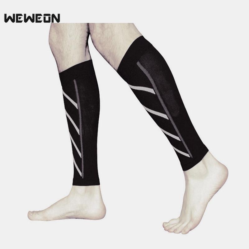 Компрессионных носков тонкой телячьей кожи спортивных носков сжатие ночь работает нейлон флуоресцентных лосина Баскетбол