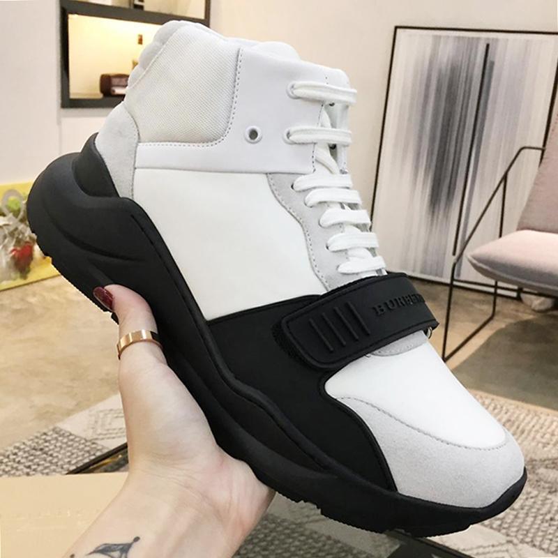 Confortevole Stivaletti uomo Autunno Inverno Leggero scarpe vintage Controllare Cotone Sneakers Herren Sportschuhe lusso casuali Lace-Up Men Shoes