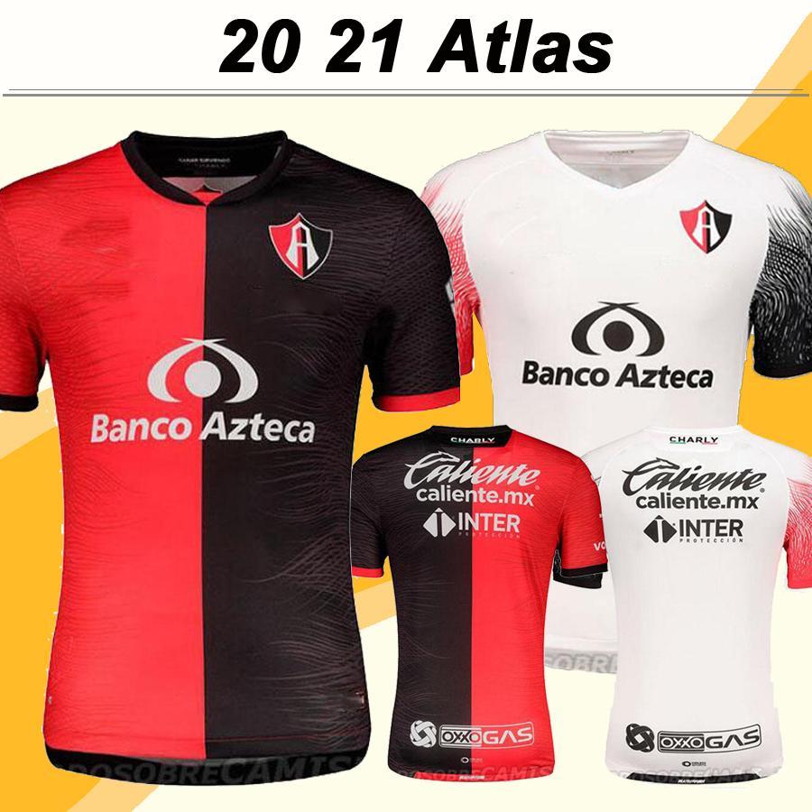 20 21 Atlas Mens Soccer Jerseys New ACOSTA I. RENATO L. TEYES I. JERALDINO Home Away Football Shirt Camisetas de futebol Short Sleeve