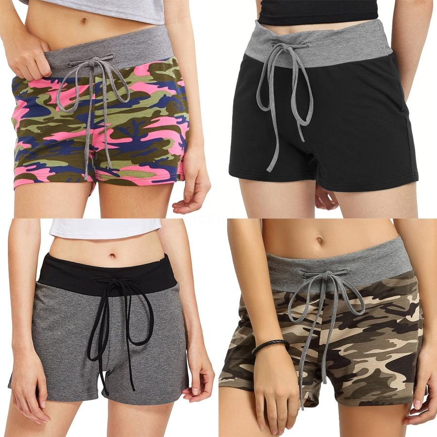 New 4Way Stretch-elastische Taille Regular Bademode Frauen Swimtrunks Schwimmen-Hosen Quick Dry Surf Pants Low Sexy Fashion Shorts Bermudas Shorts # 2401