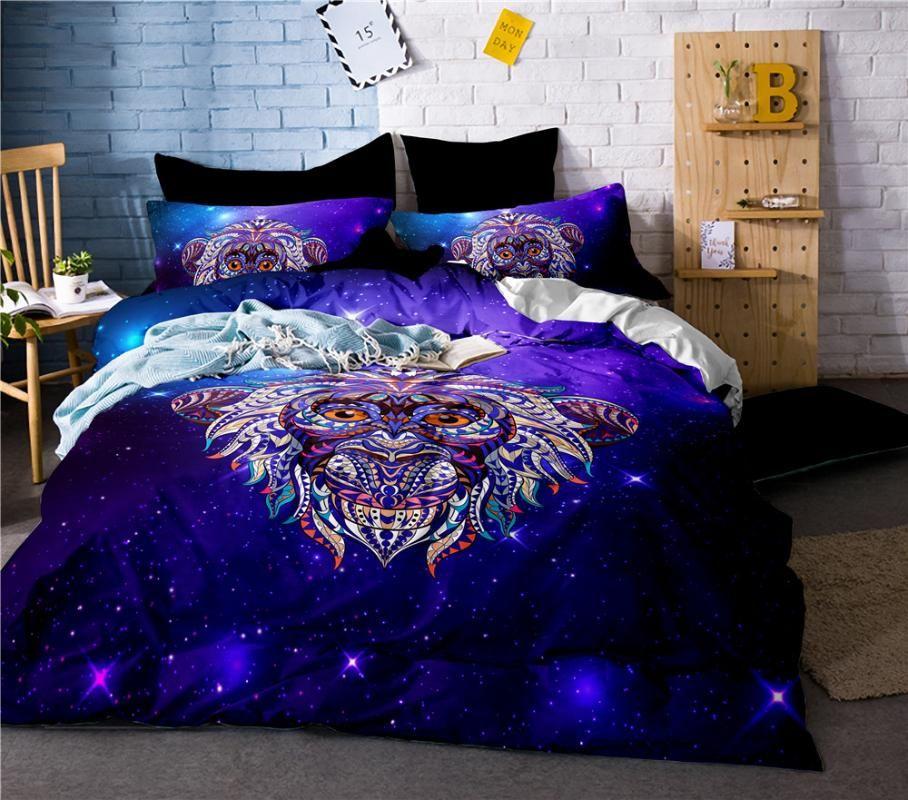 Mono de Kawaii lecho Duvet Covers Set del tamaño extra grande Ropa de cama de lino dormitorio Bedsheet Sheeet 1,5 m 1,8 m 2,0 m cama Ropa