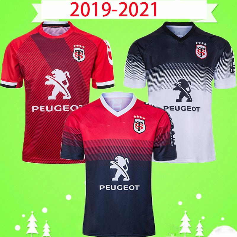 tamaño S-5XL de calidad superior 2019 2020 2021 ventas calientes Toulouse Rugby Jersey 19 20 TOULOUSAIN Rugby Jersey deporte rey camisa del juego de Super Rugby