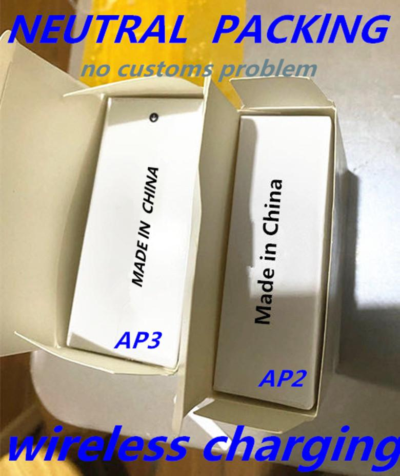 Hava Gen 3 H1 Çip Rename GPS Kablosuz Şarj Bluetooth Kulaklıklar PK Pods 2 AP Pro AP2 AP3 W1 Çip Kulakiçi 2. Nesil