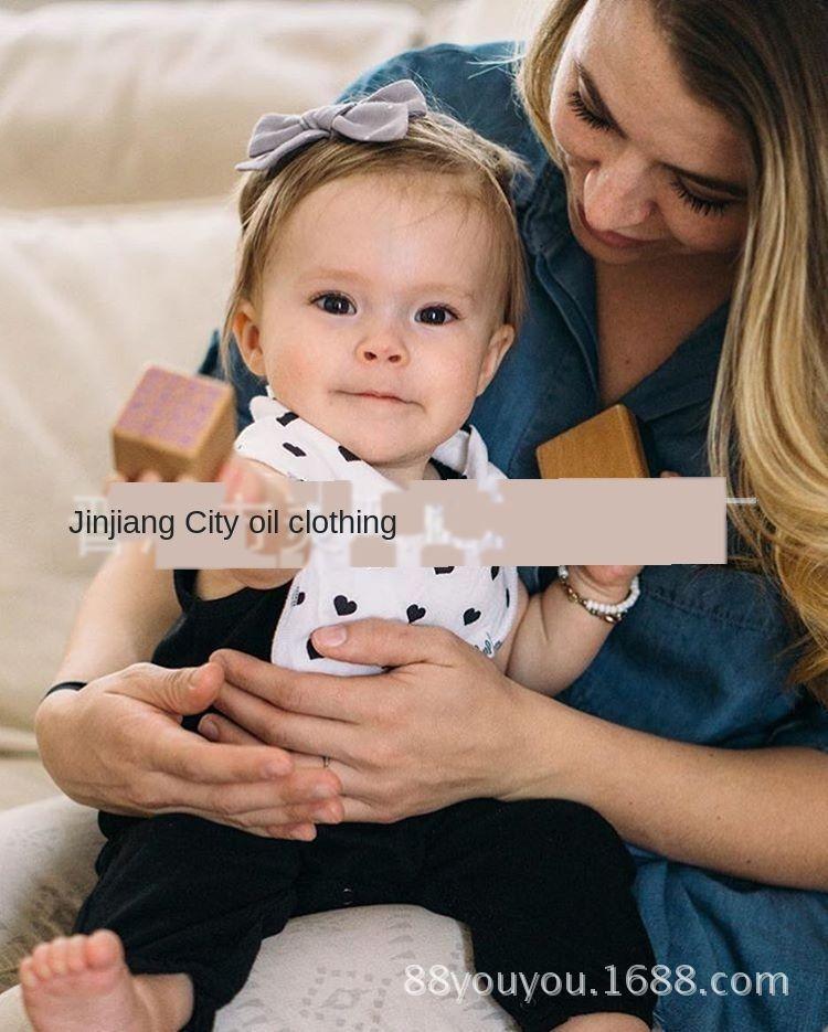 Двусторонний слюна печататься ребенком 4 шт 40 ребенка нагрудник INS нового треугольник полотенца треугольник полотенца