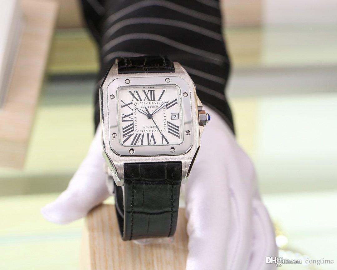 Hot Mens Watch Mens mécaniques automatiques Montre de mode Montres-bracelets Casual 2019 New Modell Luxe Wristwatch Sport Business Watch W1124002