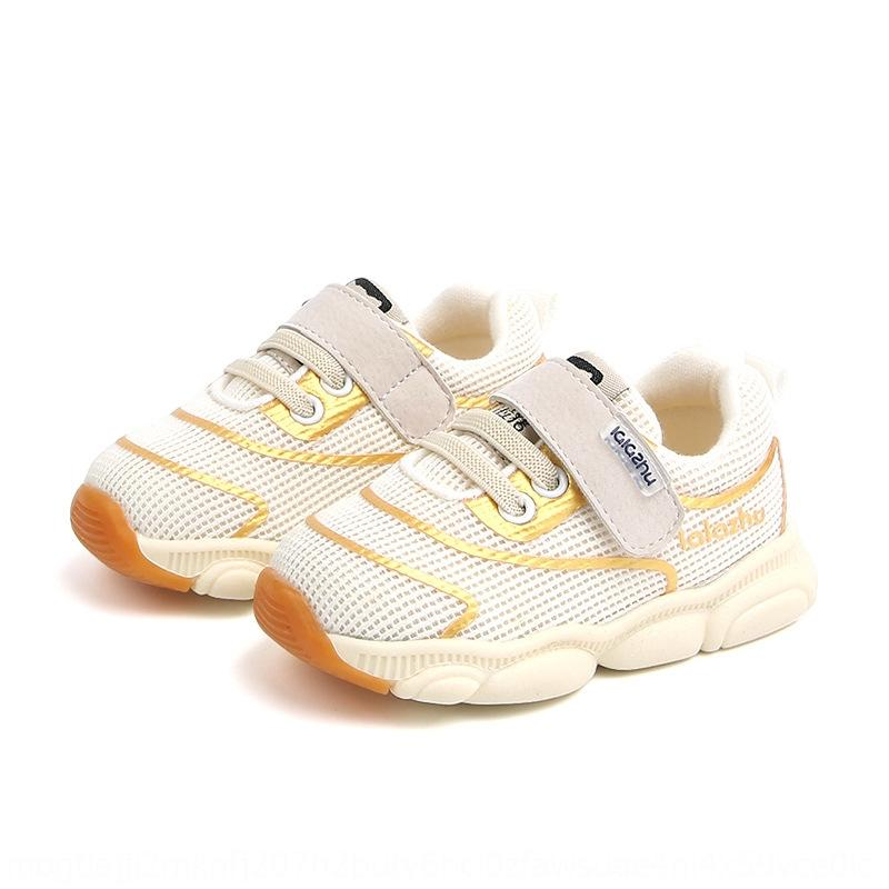 Lala pig 2019 autumn new children's and boys' baby 1-3 years old female children's mesh Sports sports shoes breathable shoes 4