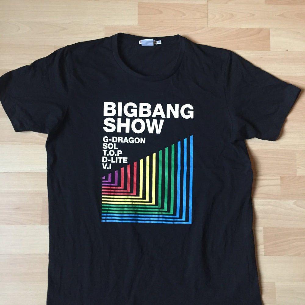 Camiseta Big Band Mostrar hazaña. G Dragon (1)