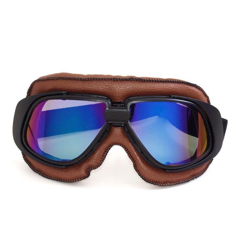 Cardin Artículos deportivos fábrica de motocicletas Harley gafas de los vidrios protectores Gafas Gafas T10 Brown