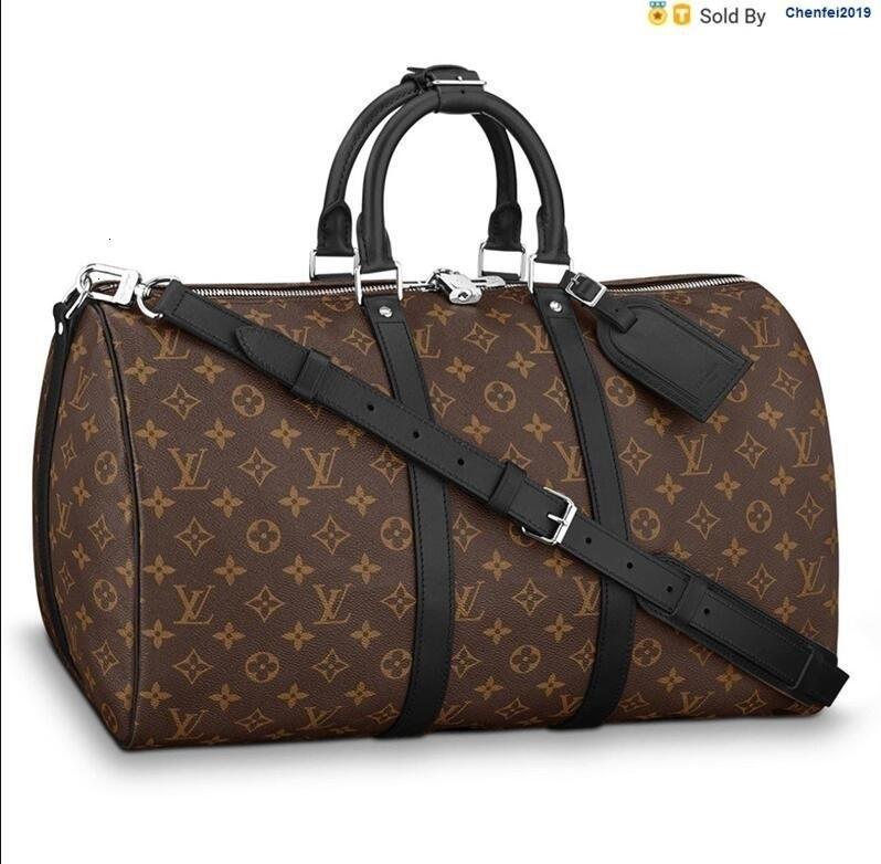 chenfei2019 ER49 Bag Keepall 45 Flower Portable Travel Bag M56711 Totes Handbags Shoulder Bags Backpacks Wallets Purse