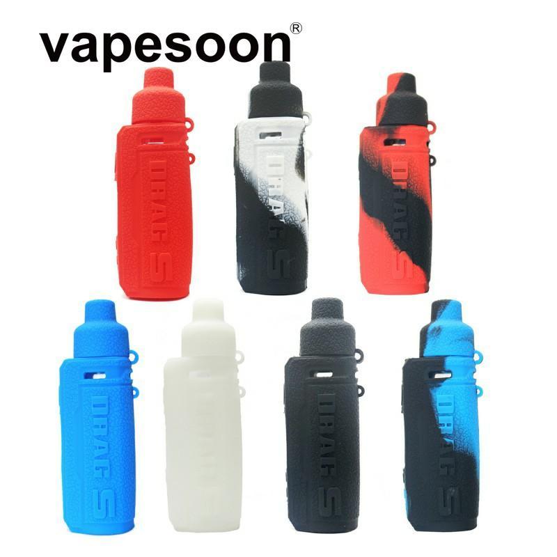 VapeSoon001 Yeni Ürün SÜRÜKLEYİN S Silikon Kılıf için VOOPOO DRAG S Mod DHL Ücretsiz