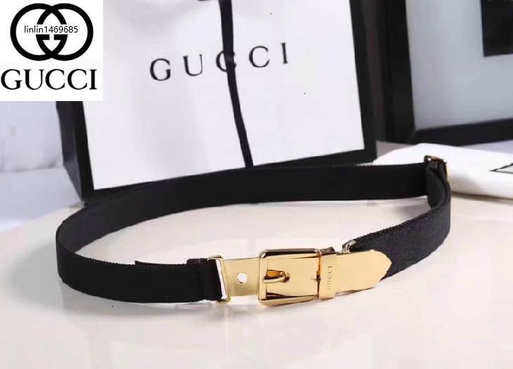 89CS nero classico a strisce cintura fettuccia autentici Mens cinghie per gli uomini con la scatola Belt